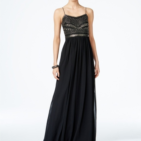 Adrianna Papell Dresses & Skirts - Adrianna Papell Beaded Chiffon Gown